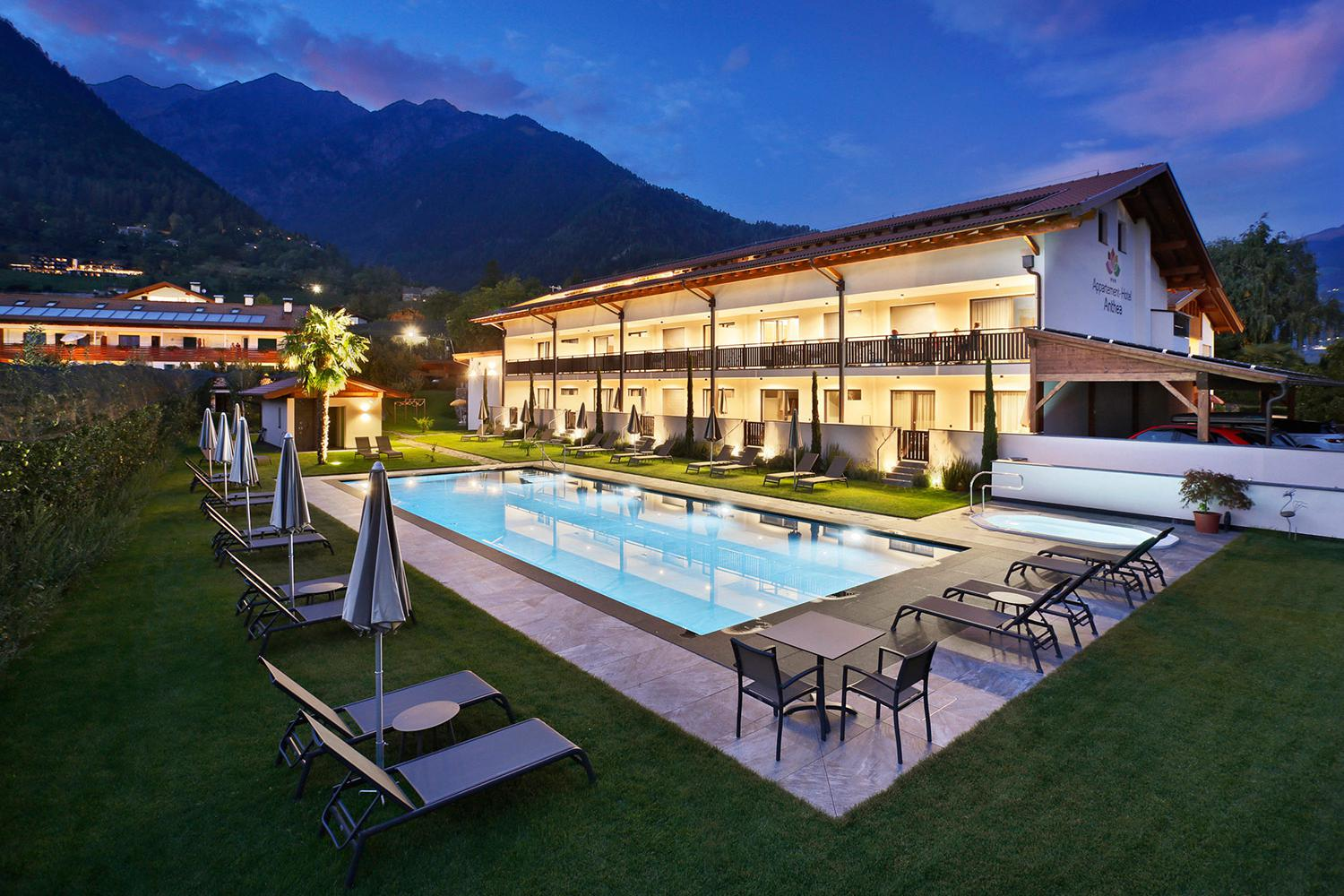 L'Appartement-Hotel Anthea a Tirolo